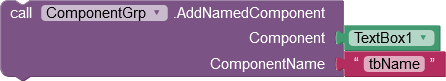 Add a component